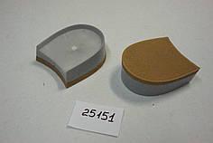 Каблук женский пластиковый 21151 h-2см.