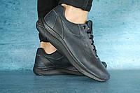 Мужские кожаные кроссовки Ecco, фото 1