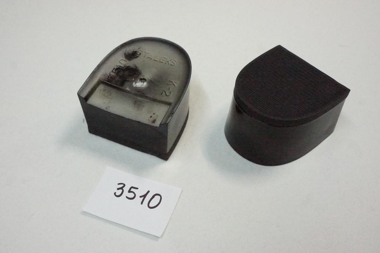 Каблук женский пластиковый 3510 h-2,3см.
