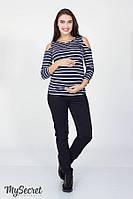 Джинсы Skinny для беременных PRIME, черные, фото 1