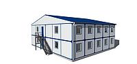 Бытовки строительные в аренду | Помещения под офис | Аренда вагончиков | Дачных домиков | Модульных домиков, фото 1