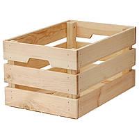 IKEA KNAGGLIG Коробка, сосна  (702.923.59)