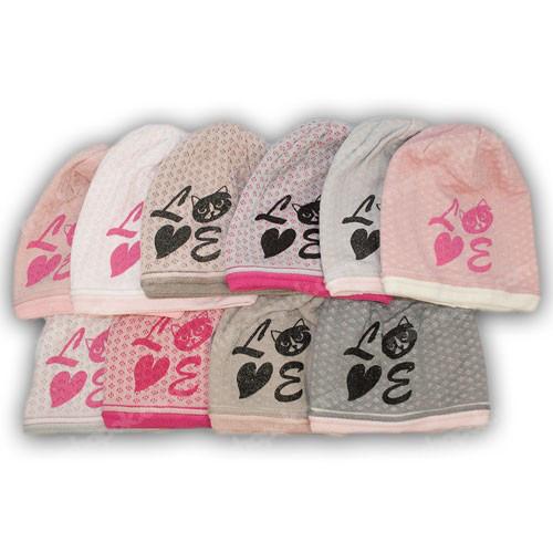 комплект шапки і шарфа хомута