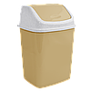 Ведро для мусора с плавающей крышкой 18л.