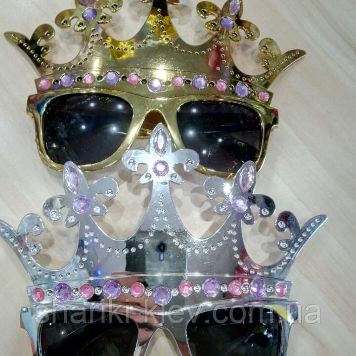 Очки с короной