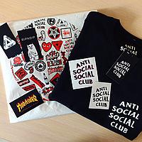 ASSC футболка черная • Фотки живые • Бирка Anti Social Social Club