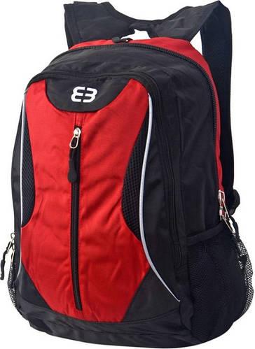 """Продуманный, городской рюкзак с карманом для ноутбука 14,1"""" ENRICO BENETTI 4705918 черно-красный"""