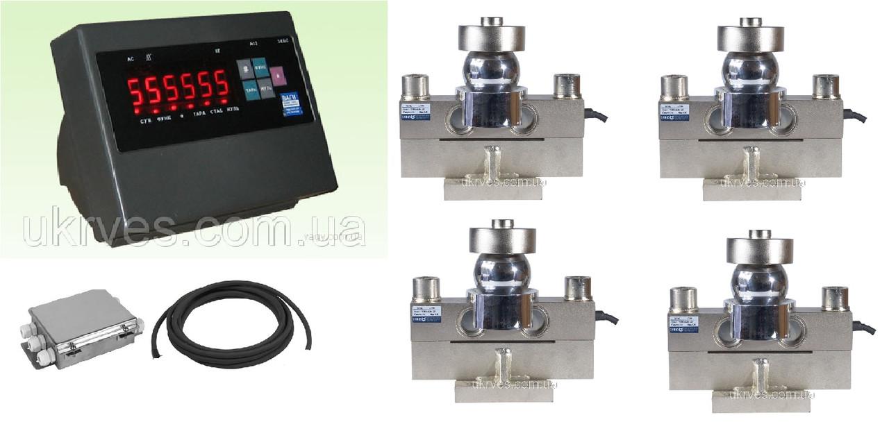 Комплект для установки автомобильных весов до 80 т на 4-х датчиках ZEMIC