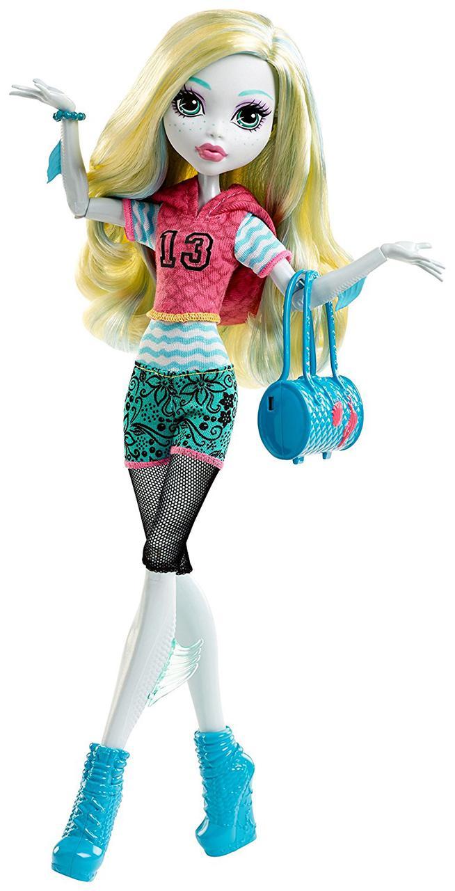 Кукла Монстер Хай Лагуна Блю Первый день в школе Monster High Signature Look Core Lagoona Blue Doll