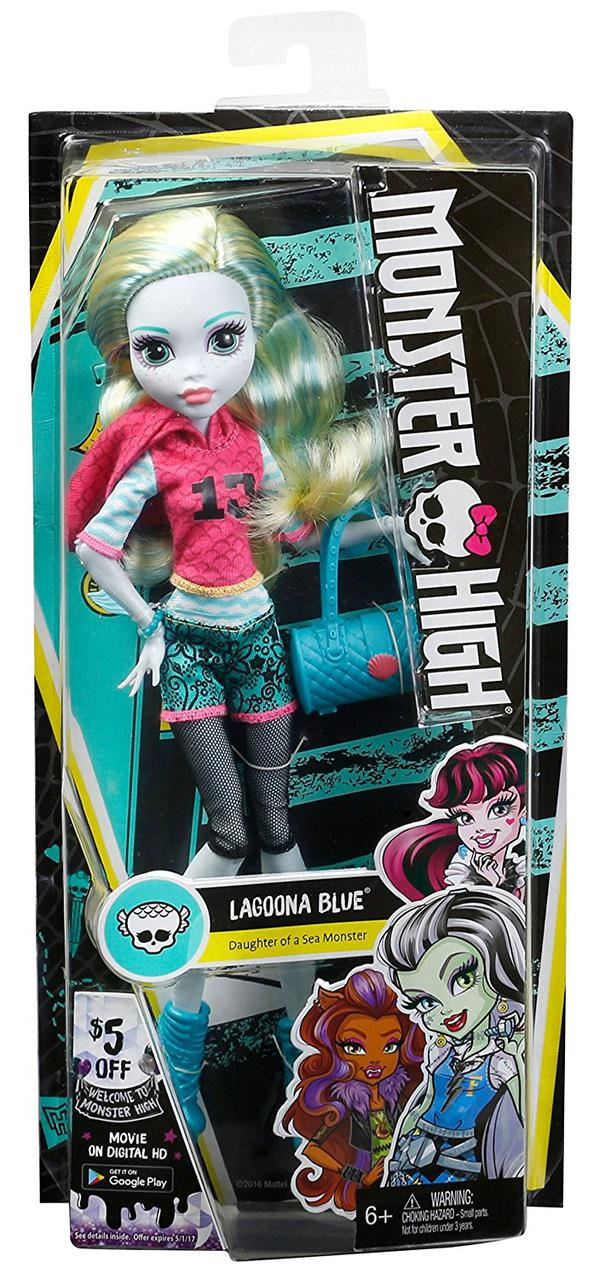 Monster High Signature Look Core Lagoona Blue Doll Лагуна Блю Первый день в школе Кукла Монстер Хай