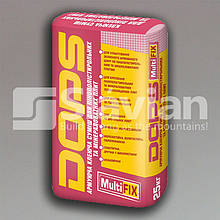 Армирующая клеевая смесь для пенополистирольных и минераловатных плит DOPS MULTIFIX, 25кг