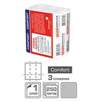 PROservice Comfort Салфетки для диспенсера, 3 ст. 250 шт (24 шт / ящ)