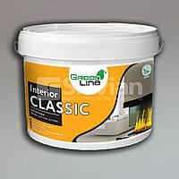 Интерьерная акриловая краска INTERIOR CLASSIC, 10л, 15кг