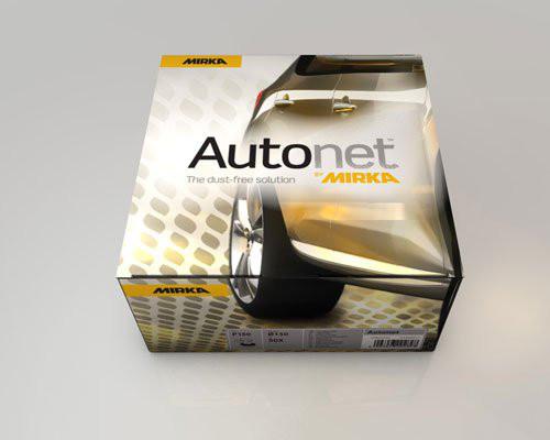 Круг шлифовальный 150мм Mirka Autonet Автонет P320