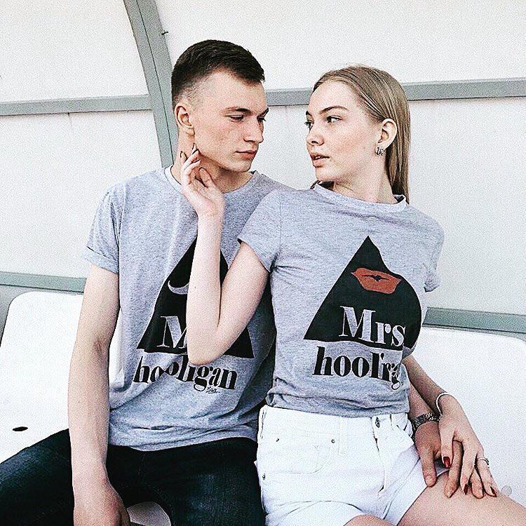 Парні футболки, mr. and mrs. hooligan