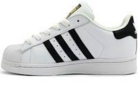 Кроссовки Adidas Superstar White Gold
