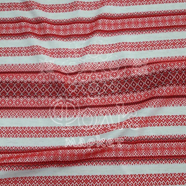 Ткань с украинской вышивкой Мистраль