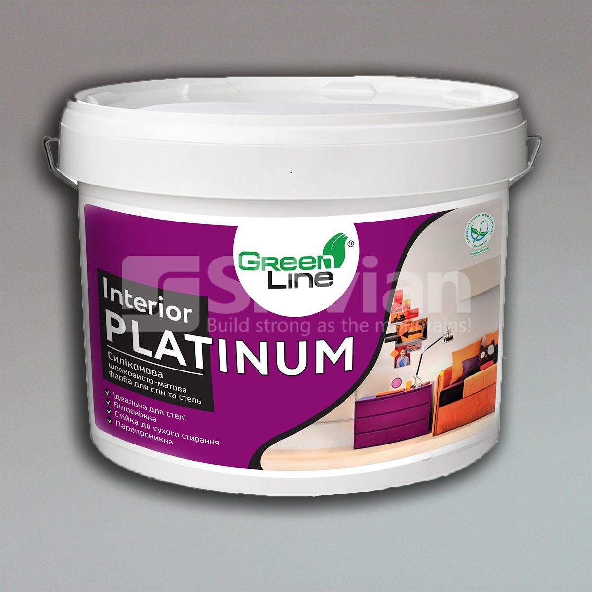 Интерьерная силиконовая краска с фотокаталитическим эффектом INTERIOR PLATINUM,10кг