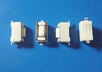 Кнопка тактовая 3х6х4.3мм 2Pin, микропереключатель SMD 2 контакта Switch Momentary Tact push button клавиша