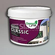 Декоративна структурна акрилова фарба для внутрішніх і зовнішніх робіт STRUCTURA CLASSIC, 16кг