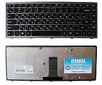 Оригинальная клавиатура для Lenovo IdeaPad Flex 14, G400s, G405s, S410p, Z410 (gray frame) Original RU