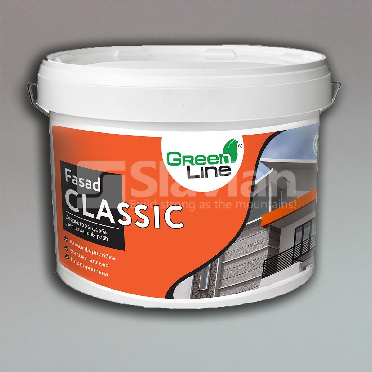 Фасадная акриловая краска FASAD CLASSIC, 10л, фото 1
