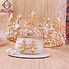 Диадема высокая тиара корона и серьги АЗАРИКА иле Dolce&Gabbana украшения, фото 6