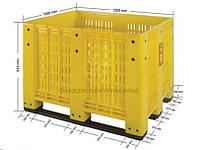 Контейнер пластиковый перфорированный BIP 1200х1000х915