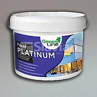 Фасадная силиконовая краска FASAD PLATINUM, 10л, фото 1