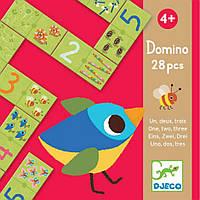 Игра детское домино Раз Два Три Djeco (DJ08168)