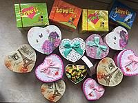 Жвачки Love is в подарочной коробке мини, фото 1