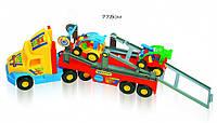 Трейлер Wader Super Truck с багги 36630 (Польша)
