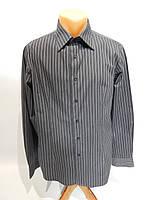 Мужская  рубашка  длинным рукавом Sisley  014ДР р.48