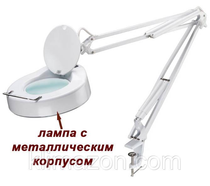 Лампа лупа настольная 8064