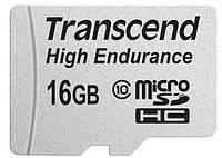 КАРТА ПАМЯТИ TRANSCEND MICROSDHC 16 GB CLASS 10 HIGH ENDURANCE + AD