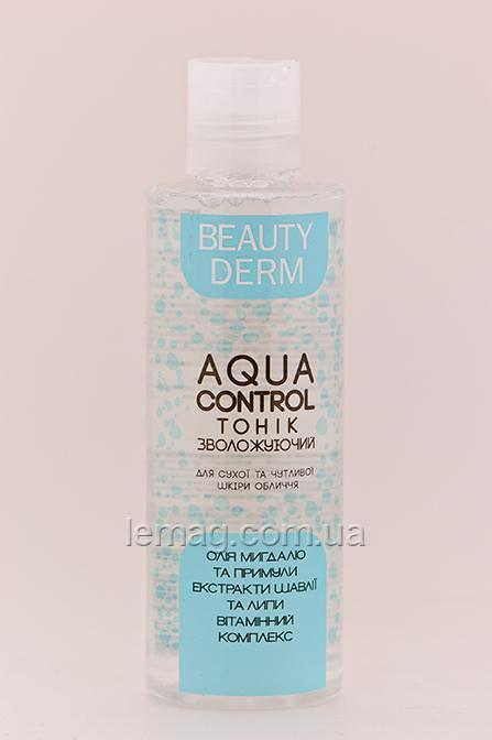 NaturPRO BEAUTY DERM Тоник Aqua Control увлажняющий для сухой и чувствительной кожи, 200 мл