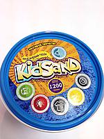Кинетический песок 1200г. (голубой)