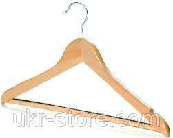 Плечики вешалка для костюма бамбуковая