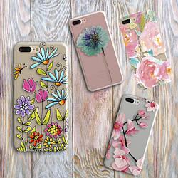 Дизайнерский чехол на Samsung Galaxy J3 2016 (J310h) Цветы