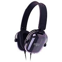 Наушники накладные Ergo VD-300 ((SM-HD300M.V)) Black (Ergo VD-300 Black)