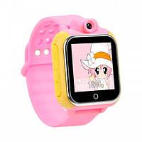 Смарт-часы детский Smart Baby Watch Q200 (с камерой) Pink Презентационная модель