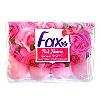 Мыло туалетное Fax Розовые Лепестки 4х70г
