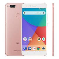"Смартфон Xiaomi Mi A1 Rose Gold, 4/64Gb, 12+13/5Мп, 8 ядер, 2sim, экран 5.5"" IPS, 3080mAh, GPS, 4G."