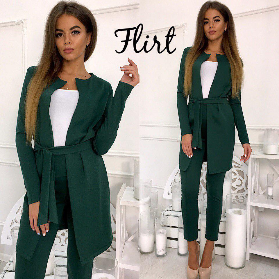 2d443b758f7 Женский брючный костюм (арт. 83310634) - Aleksa - интернет-магазин женской  одежды