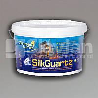 Грунт-краска на силиконовой основе SILK GUARTZ, 10л, фото 1