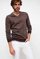 Мужской свитер коричневый De Facto / Де Факто, фото 1