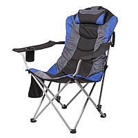 Кресло Vitan Директор Синий-Черный (5990)