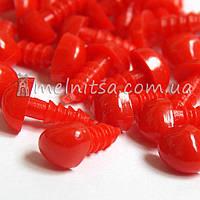 Носики-винтики для игрушек, 9х7 мм, красные