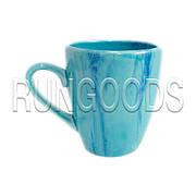 Чашка Европа радуга голубая