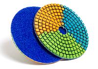 """Алмазные гибкие шлифовальные круги """"NEW 3-color"""""""
